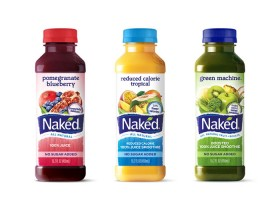Bare Naked fruit smoothies...