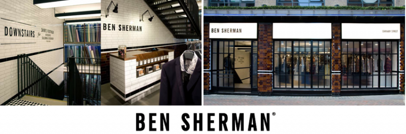 A sharp new look for Ben Sherman