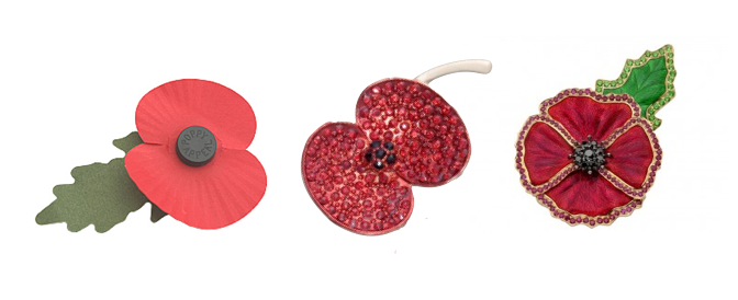 The evolution of the Remembrance Poppy (£1, £15, £25,000)