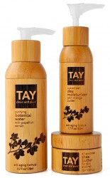 Clean and pure packaging ideology from Tay