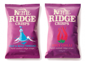 Crisp packaging from Kettle