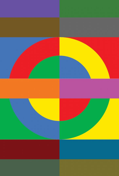 The roundel by Sir Peter Blake