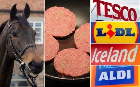 Own label burgers: may contain traces of Shergar