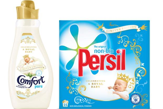 Unilever Royal Baby