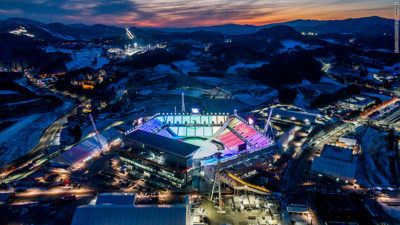 Heading to the Winter Olympic Games in PyeongChang