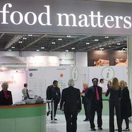 Come find us at Food Matters Live next week