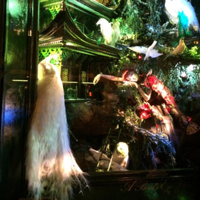 Step into Christmas via NYC's festive shop windows