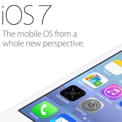 iOS7: the Shock of the New