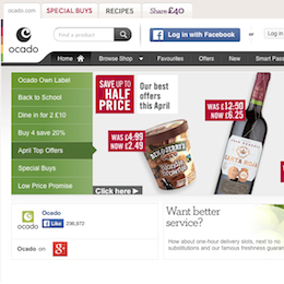 Grocery retailing: a new design challenge