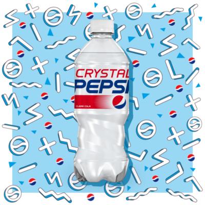 Crystal Pepsi's experiential nostalgia trip