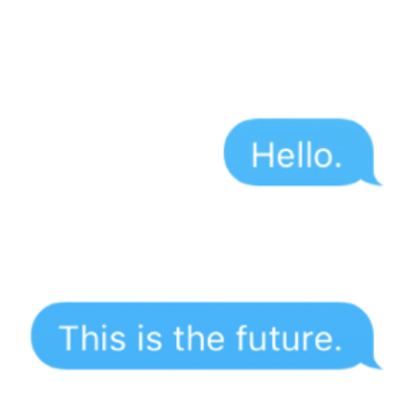 A conversation about conversational interfaces