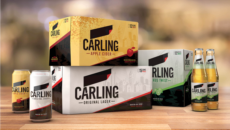 Carling packaging