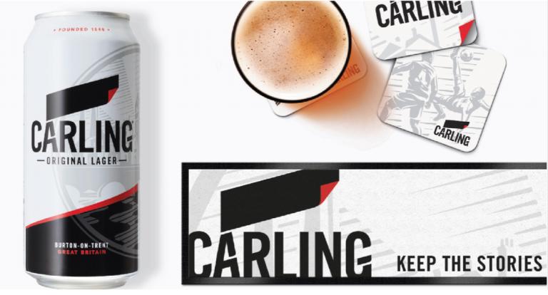 Carling rebrand