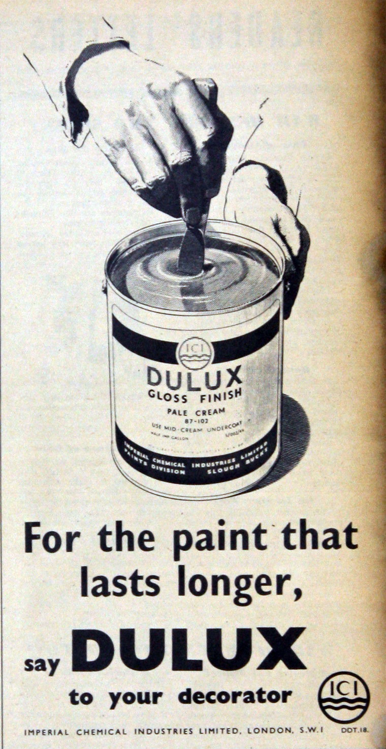 Dulux advert