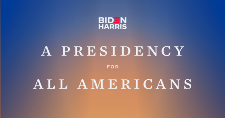 A presidency for all Americans