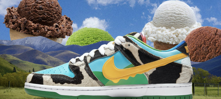 Food Fashion: Nike SB and Ben & Jerry's Dunk Low